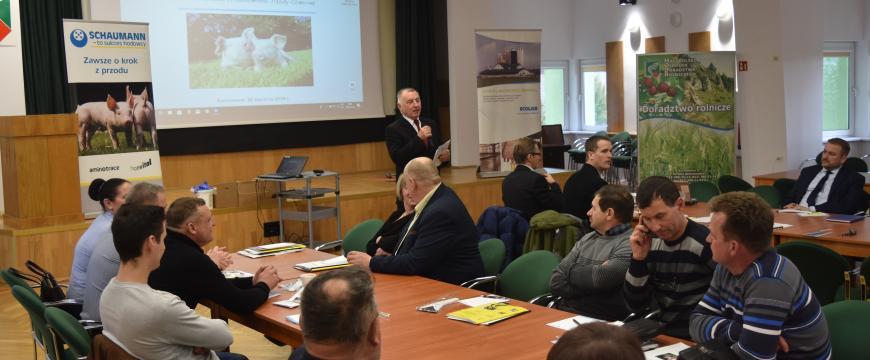 Marek Kwiatkowski – Dyrektor MODR wita uczestników konferencji